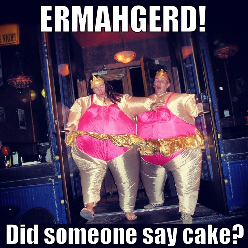 Did someone say cake?
