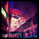 Fremont St. Light Show