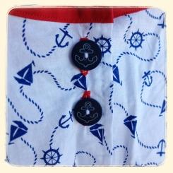 Sailoroo Dress back detail