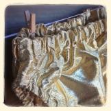 Gold Lamé Diaper Cover